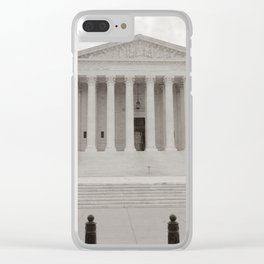 Supreme Court photography Clear iPhone Case