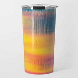 Glitch Glow Travel Mug