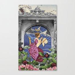THE HIGH PRIESTESS TAROT CARD Canvas Print