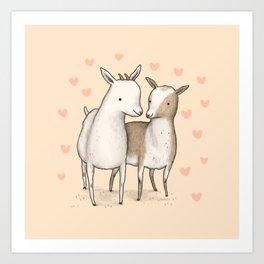 I Goat You Babe Art Print