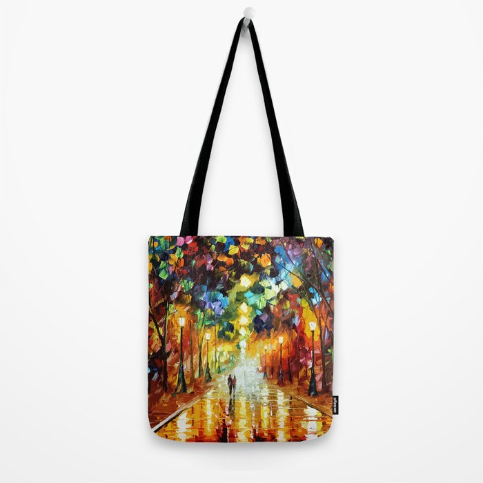 Romantic Starry Night Tote Bag