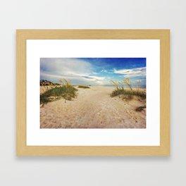 Gulf Coast Beach Framed Art Print