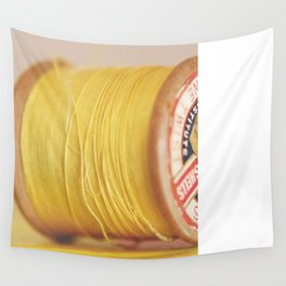 y is for yellow Wall Tapestry