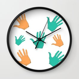hands design Wall Clock