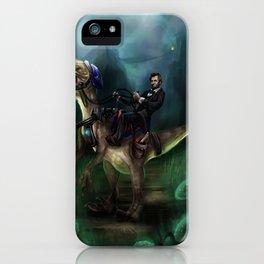 Abraham Lincoln Raptor. iPhone Case