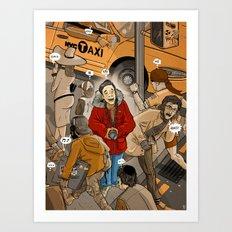 Spot the Tourist Art Print