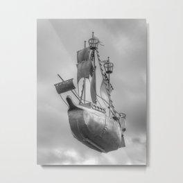 Sky sailor Metal Print
