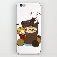 hetalia iPhone & iPod Skins featuring Hetalia - Canada Loves Timmies  by BlacksSideshow
