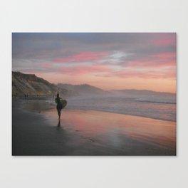 Rainbow Sherbert Skies  Canvas Print