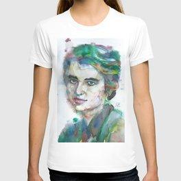 ROSALIND FRANKLIN watercolor portrait T-shirt