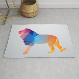 Glass Animal Series - Lion Rug