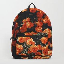 Orange Flowers Everywhere Backpack