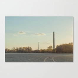 Smoke Stacks Canvas Print