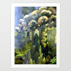 Tarairi Forest Morning Art Print
