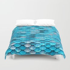 Blue Mermaid Duvet Cover