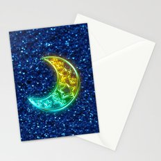 Moon Night Stationery Cards