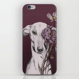 Greyhound Floro Red iPhone Skin