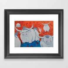 The Watering Hole Framed Art Print