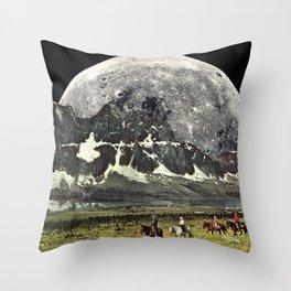 Mountains of Montanya Throw Pillow