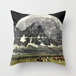 Mountains of Montanya Throw Pillow
