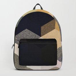 CUBE 1 GOLD & BLACK Backpack