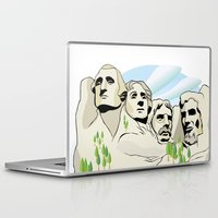 rushmore Laptop & iPad Skins featuring Mont Rushmore - United States by Dues Creatius