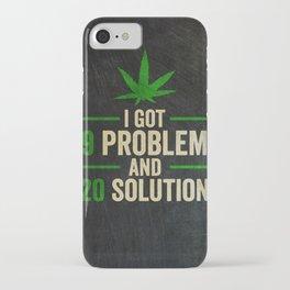 Cannabis Smoker 420 THC iPhone Case