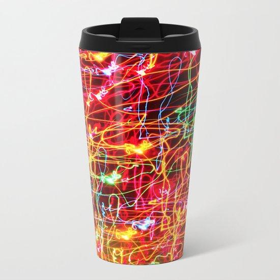 Neon Neon 4 Metal Travel Mug