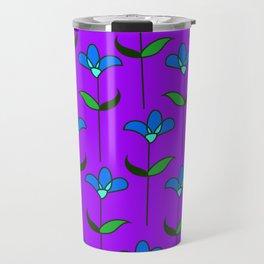 Genevieve - Purple and Blue Travel Mug