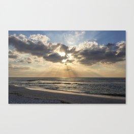 Delnor-Wiggins Pass Sate Park Sunset Canvas Print