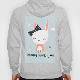 RABBIT BUNNY CARTOON Hoody