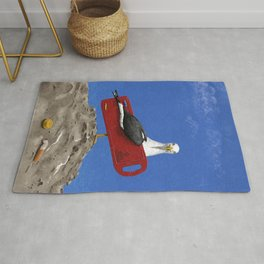 Preserve the oceans Rug