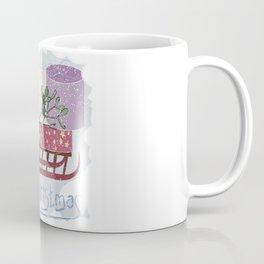 Retro . Vintage. . The Feast Of The Nativity . Coffee Mug