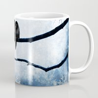 lovers Mugs featuring Lovers by SensualPatterns