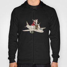 Cat and Wolf hit the road Hoody