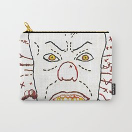 Pennywise The Dancing Clown - Digitally Rendered Hand Embroidery Carry-All Pouch
