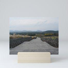 Beautiful Scenary at Jeju Sangumburi Mini Art Print