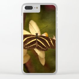 Natures Flutter Clear iPhone Case