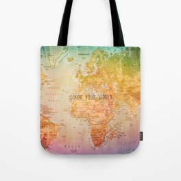 Color your World Tote Bag