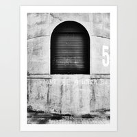 Wynyard Quarter by iPhone Art Print