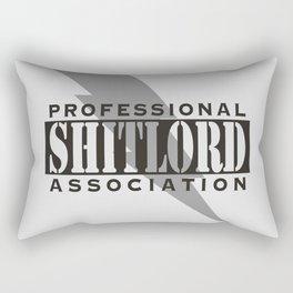 Professional Shitlord Association Rectangular Pillow