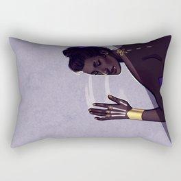 Paint Me a Flower Rectangular Pillow
