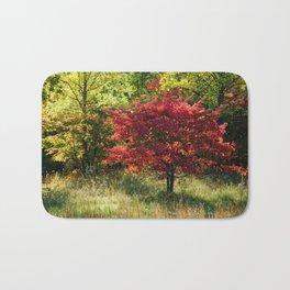 Fairy tale in autumn Bath Mat
