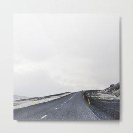On The Open Road III Metal Print