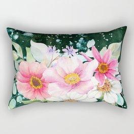 Flowers bouquet 70 Rectangular Pillow