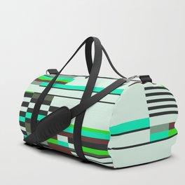 Geometric design - Bauhaus inspired Duffle Bag