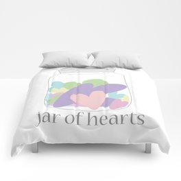 Jar of Hearts Comforters