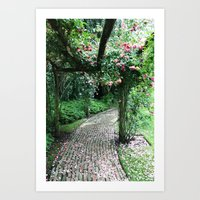 Enchanted Archway Art Print