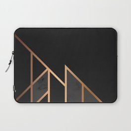 Black & Gold 035 Laptop Sleeve