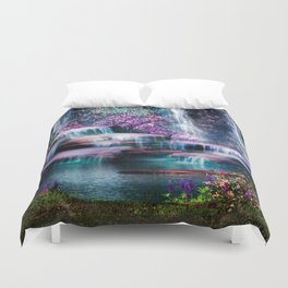 Fantasy Forest Duvet Cover